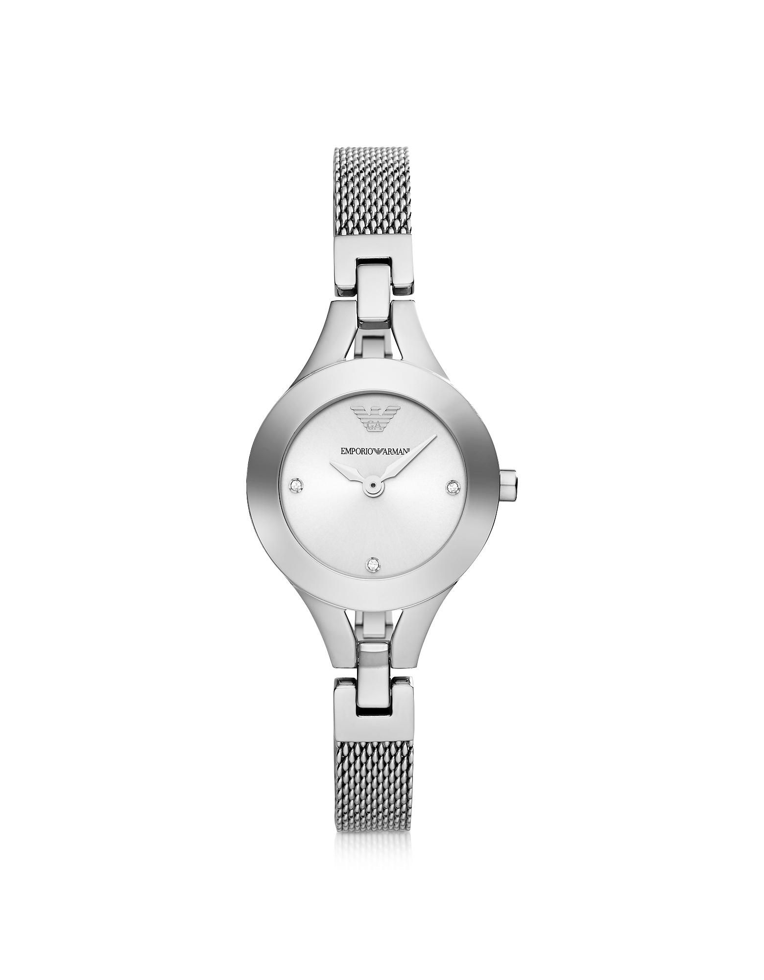 Emporio Armani Women's Watches, Classic Sleek Stainless Steel Women's Watch
