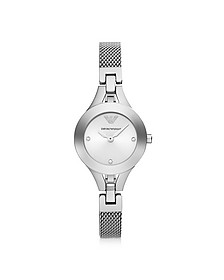 Classic Sleek Stainless Steel Women's Watch - Emporio Armani