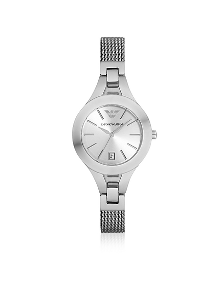 Image of Emporio Armani Stainless Steel Women's Watch w/Mesh Strap