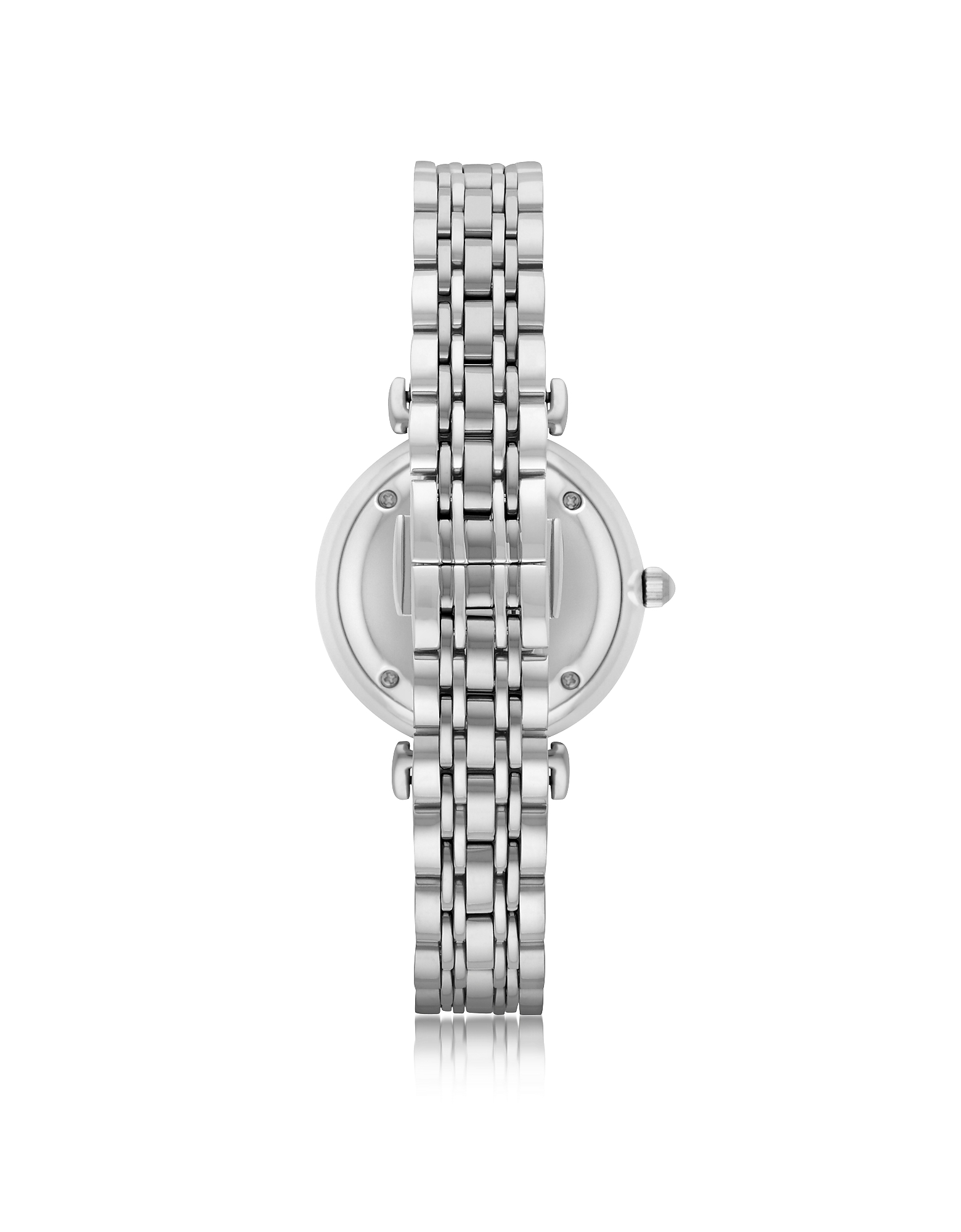 T-Bar Silvertone Stainless Steel Women's Watch w/Crystals Dial от Forzieri.com INT
