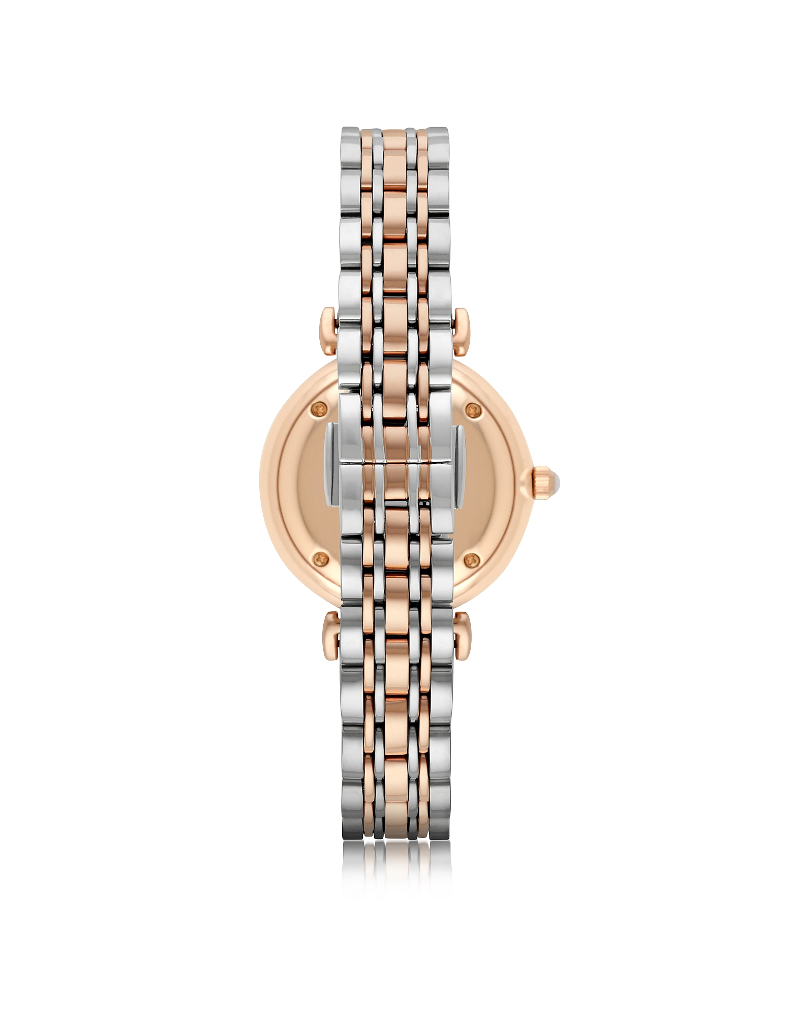 T-Bar Two Tone Stainless Steel Women's Watch w/Crystals Dial от Forzieri.com INT
