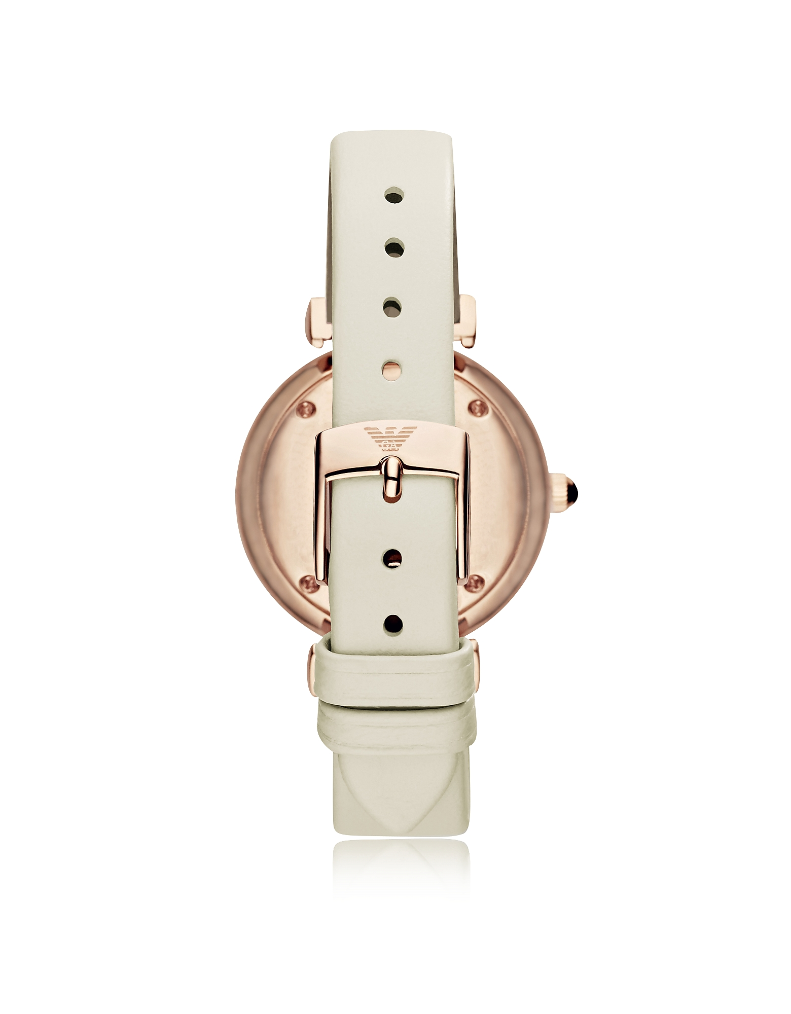 T-Bar Rose Gold-tone Women's Watch w/Ivory Leather Band от Forzieri.com INT
