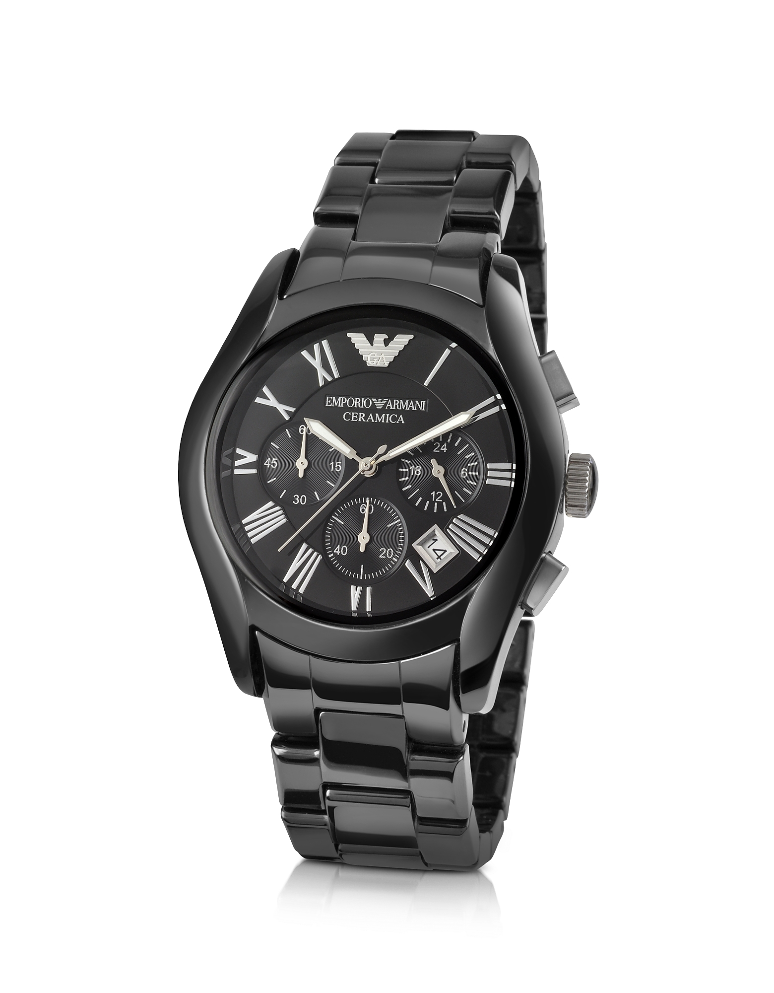 Emporio Armani Men's Watches, Men's Ceramic Chrono Watch