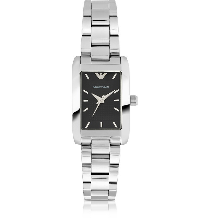 Super Slim Stainless Steel Women's Watch - Emporio Armani