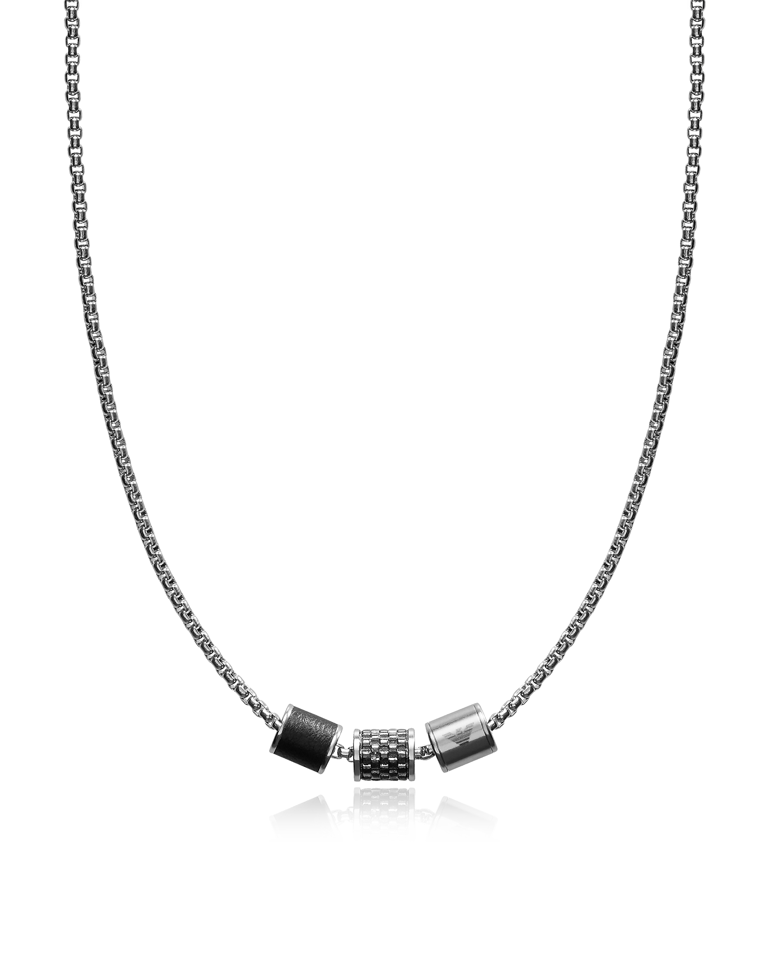 Heritage Cylinder Pendant Men's Necklace