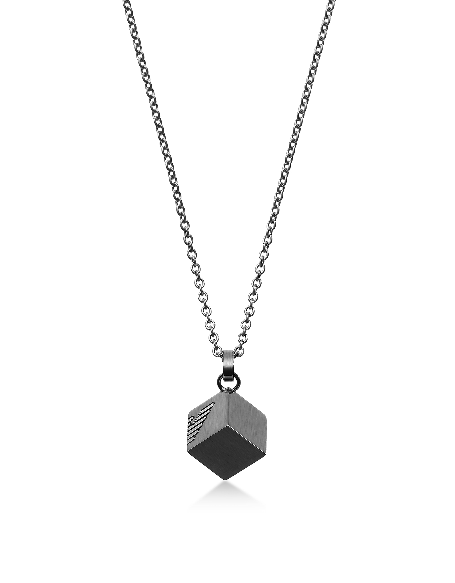 Logo Cube Necklace