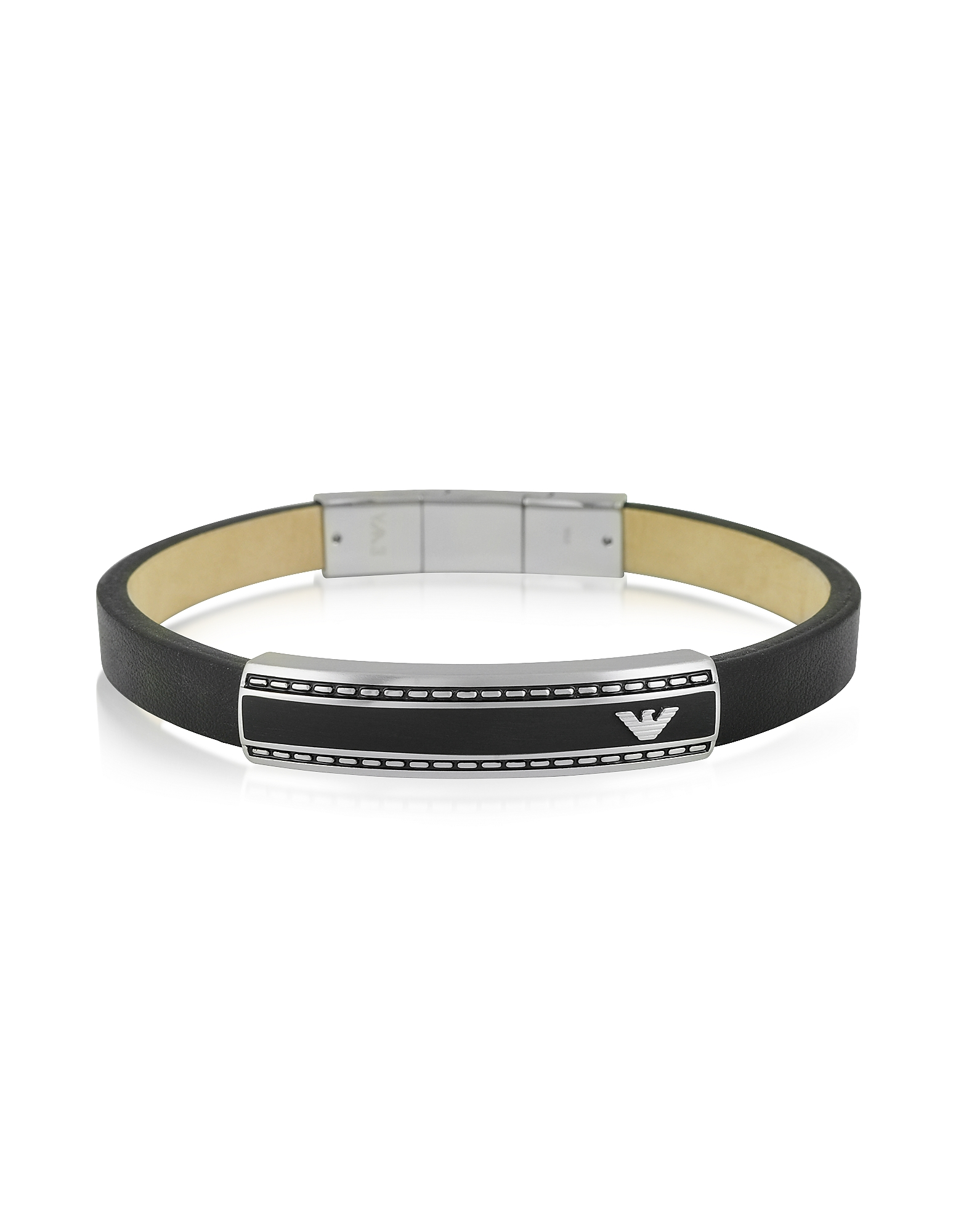 Stainless Steel Signature Men's Bracelet от Forzieri.com INT
