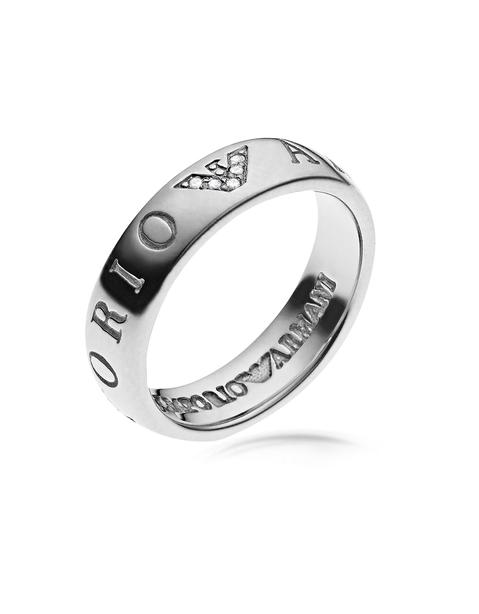 Emporio Armani - Женское Кольцо с Логотипом Орлом