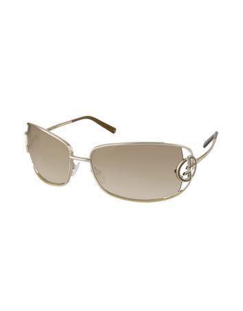 Foto Giorgio Armani Sonnenbrille mit Metallgestell und Logo