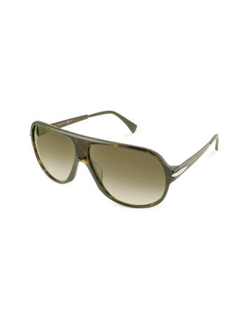 Giorgio Armani Signature Aviator Sunglasses
