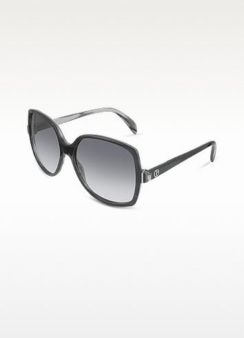 Large Logo Square Sunglasses - Giorgio Armani