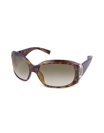 Giorgio Armani Logo Hinge Plastic Cat Eye Sunglasses