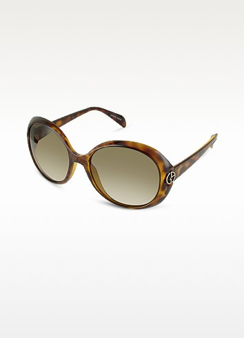 Logo Round Sunglasses - Giorgio Armani