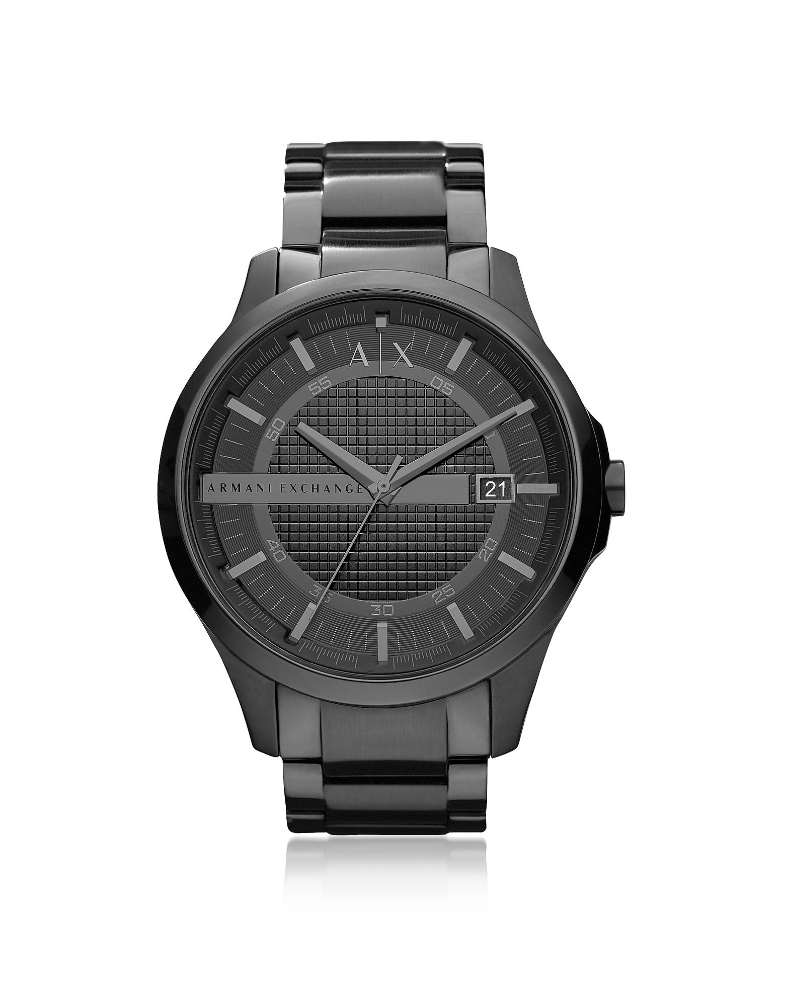 Armani Exchange Men's Watches, Hampton Black Stainless Steel Men's Watch