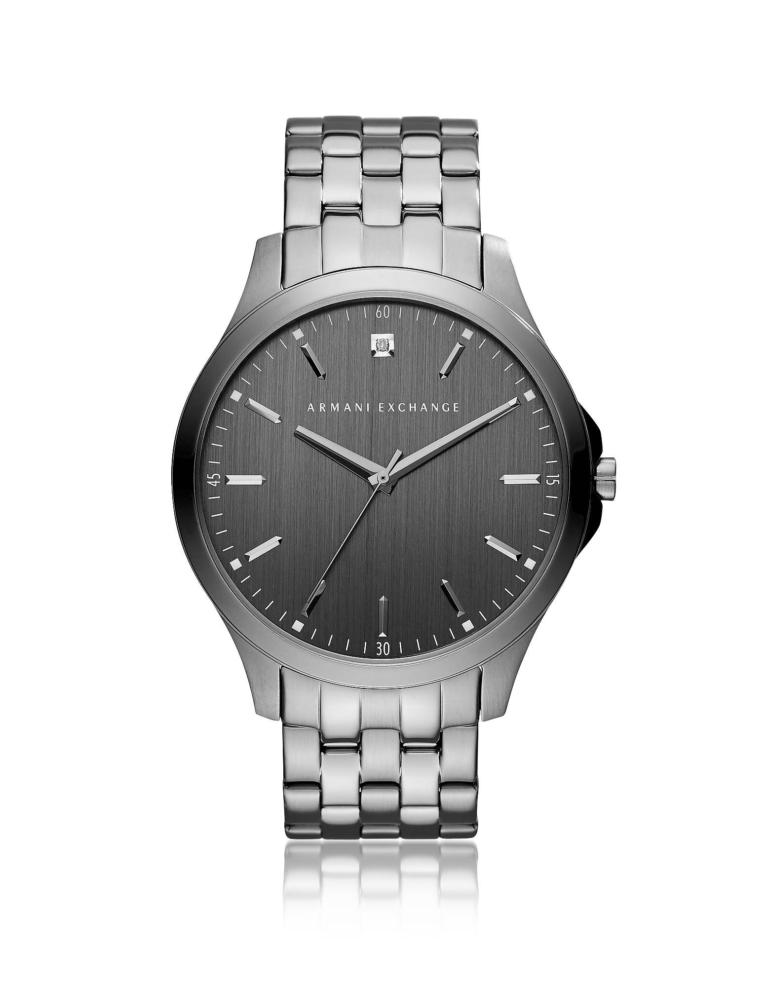 Серые Мужские Часы Hampton ARMANI EXCHANGE