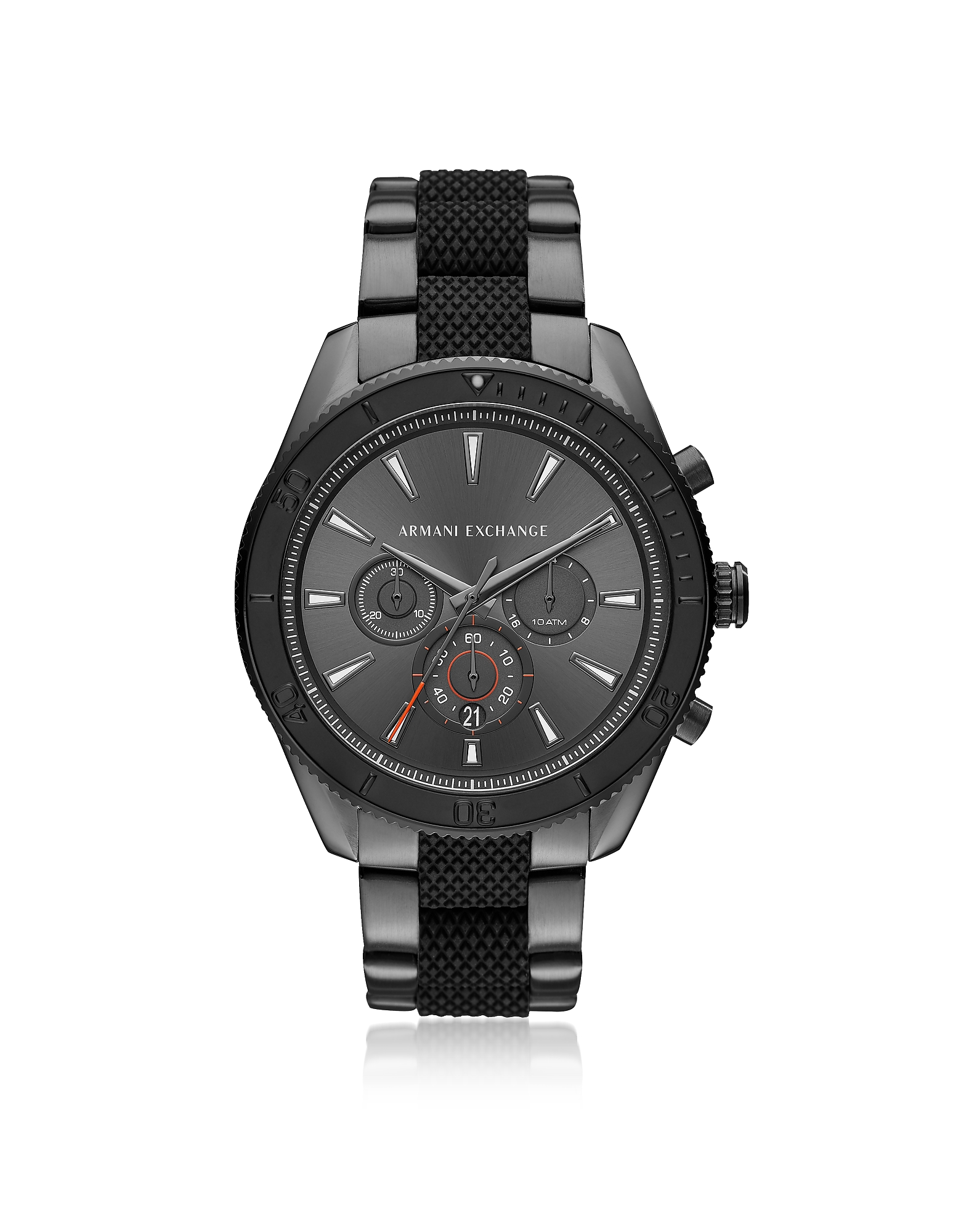Image of Armani Exchange Designer Men's Watches, AIX Grey Dial and Gunmetal Men's Chronograph Watch