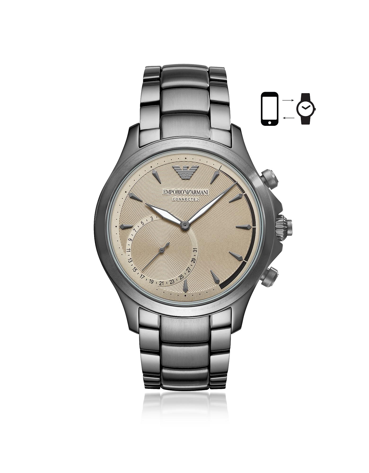 Emporio Armani Men's Watches, Emporio Armani Connected Men's Hybrid Smartwatch