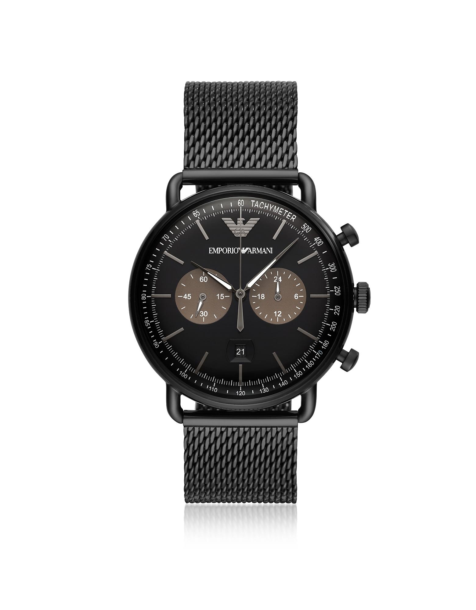 AR11142 - Мужские Часы Пилота Emporio Armani