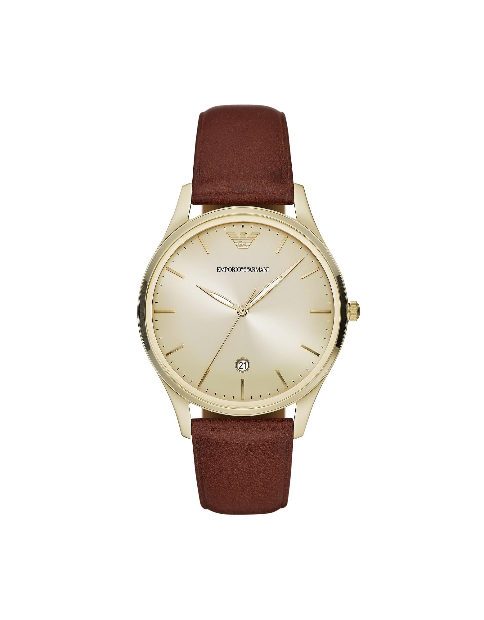 Emporio Armani Designer Men's Watches, Stainless Steel Men's Watch