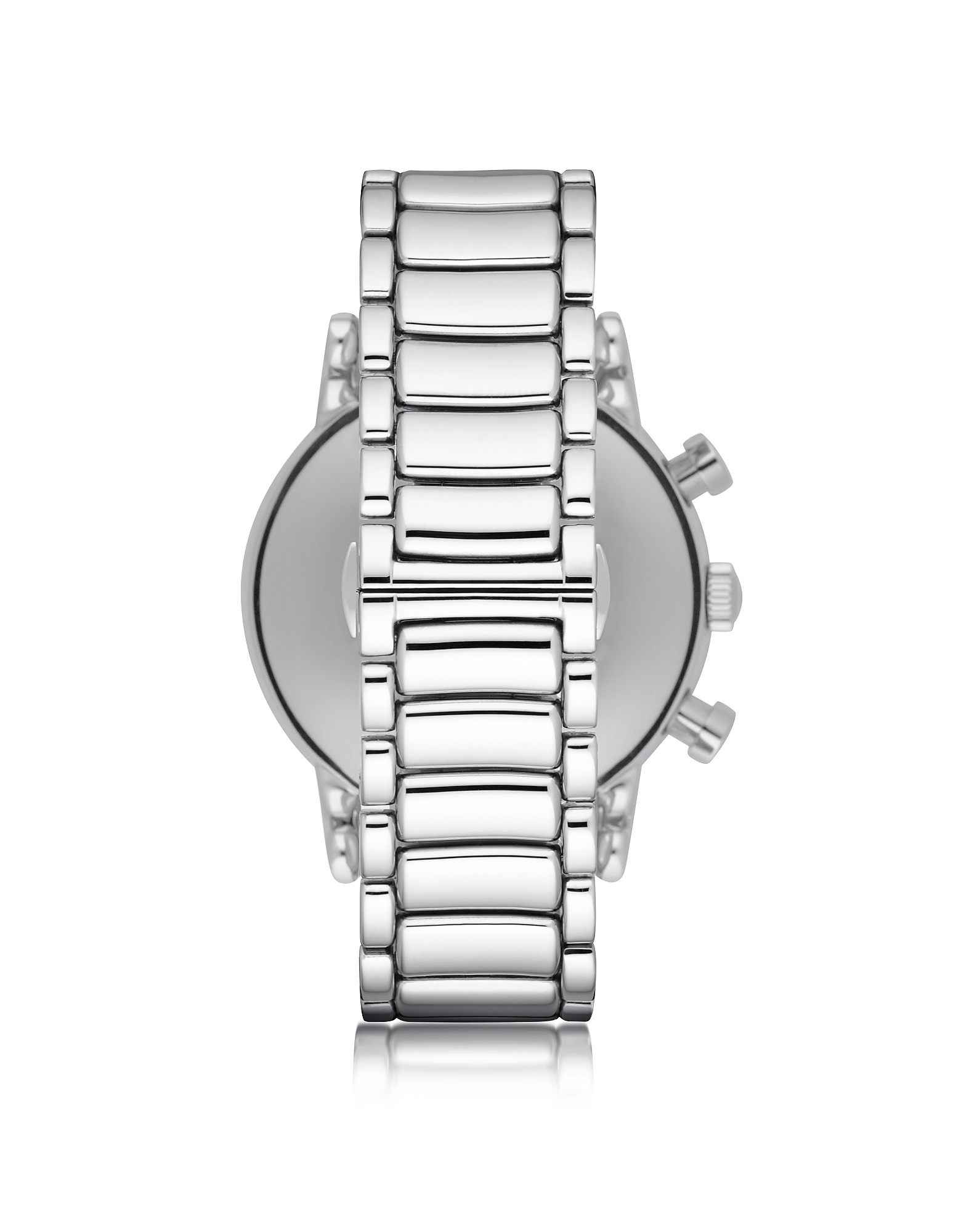 Silvertone Stainless Steel Men's Watch w/Black Dial от Forzieri.com INT