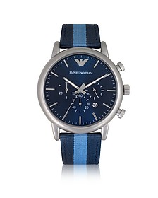 Stainless Steel Men's Chronograph Watch - Emporio Armani