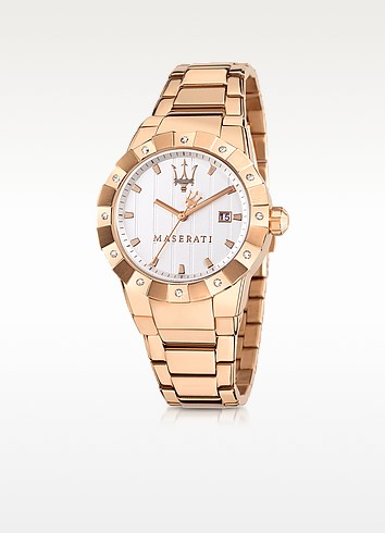 Tridente Stainless Steel Women's Watch - Maserati