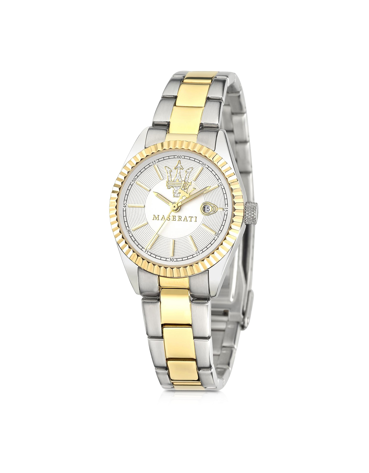 Competizione Silver Dial Two Tone Stainless Steel Women's Watch от Forzieri.com INT