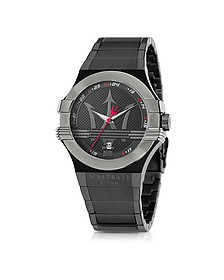 Potenza Black PVD Stainless Steel Unisex Watch - Maserati