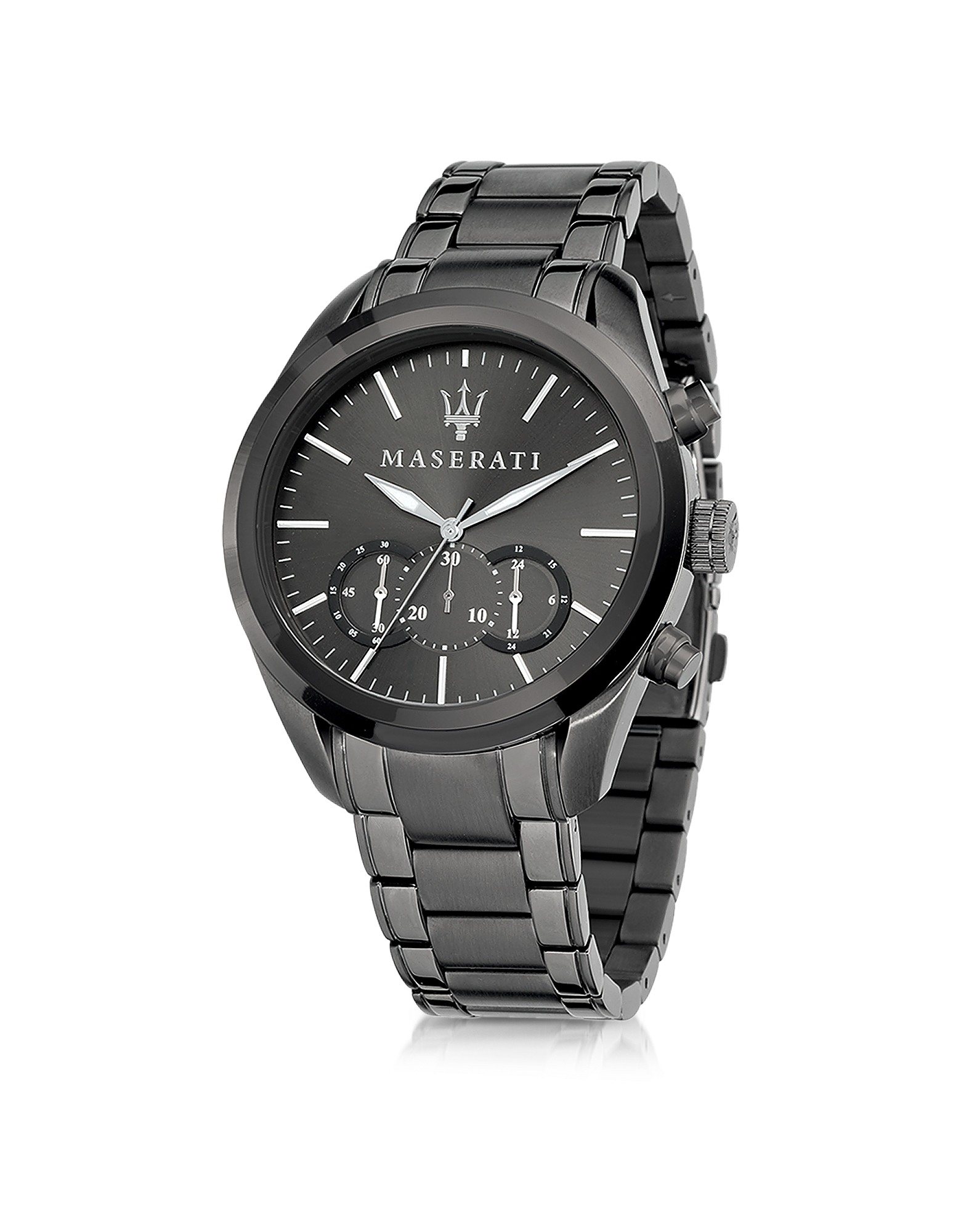 Maserati Men's Watches, Pole Position Gunmetal PVD Stainless Steel Men's Watch