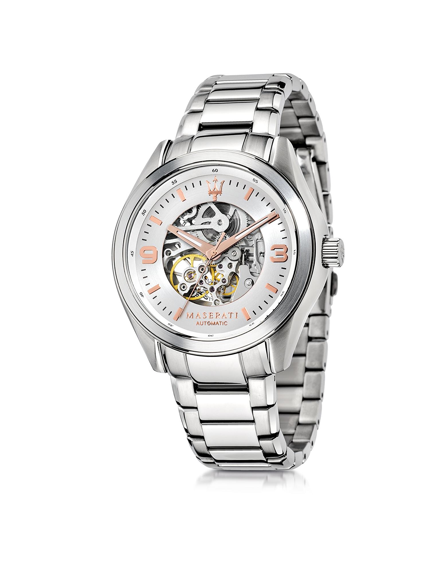 Sorpasso - Серебристые Мужские Часы из Нержавеющей Стали