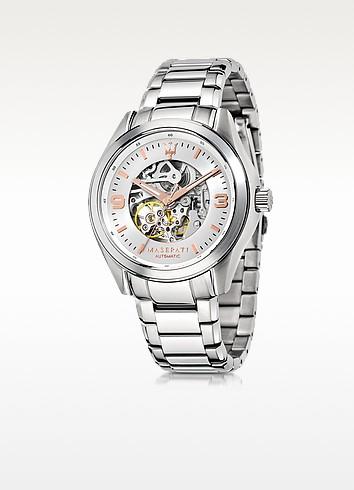 Maserati Sorpasso - Серебристые Мужские Часы из Нержавеющей Стали
