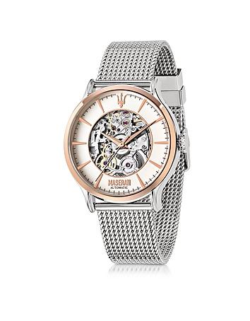 Maserati - Epoca Two Tone Stainless Steel Men's Watch