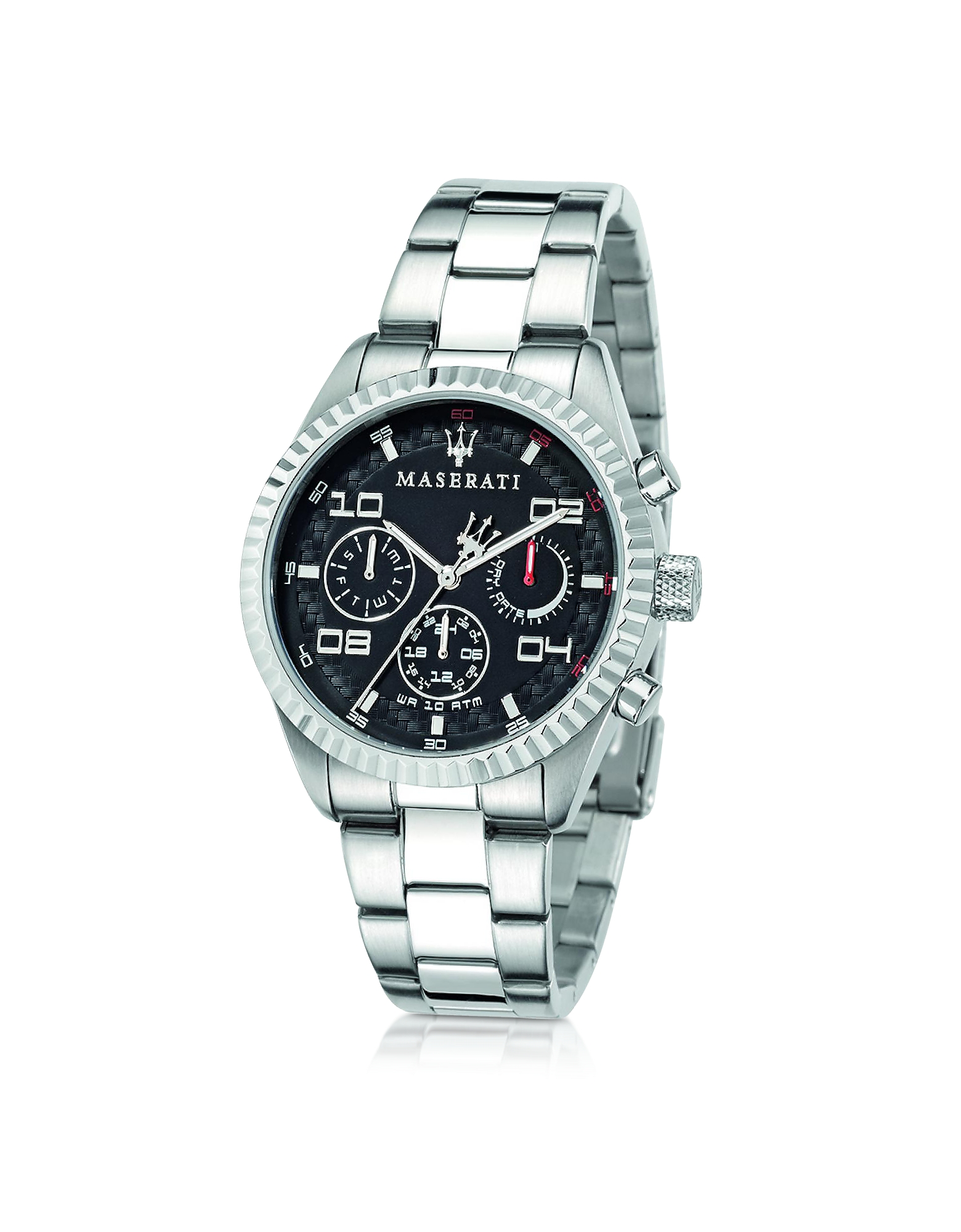 Maserati Men's Watches, Competizione Multi Black Dial Stainless Steel Men's Watch