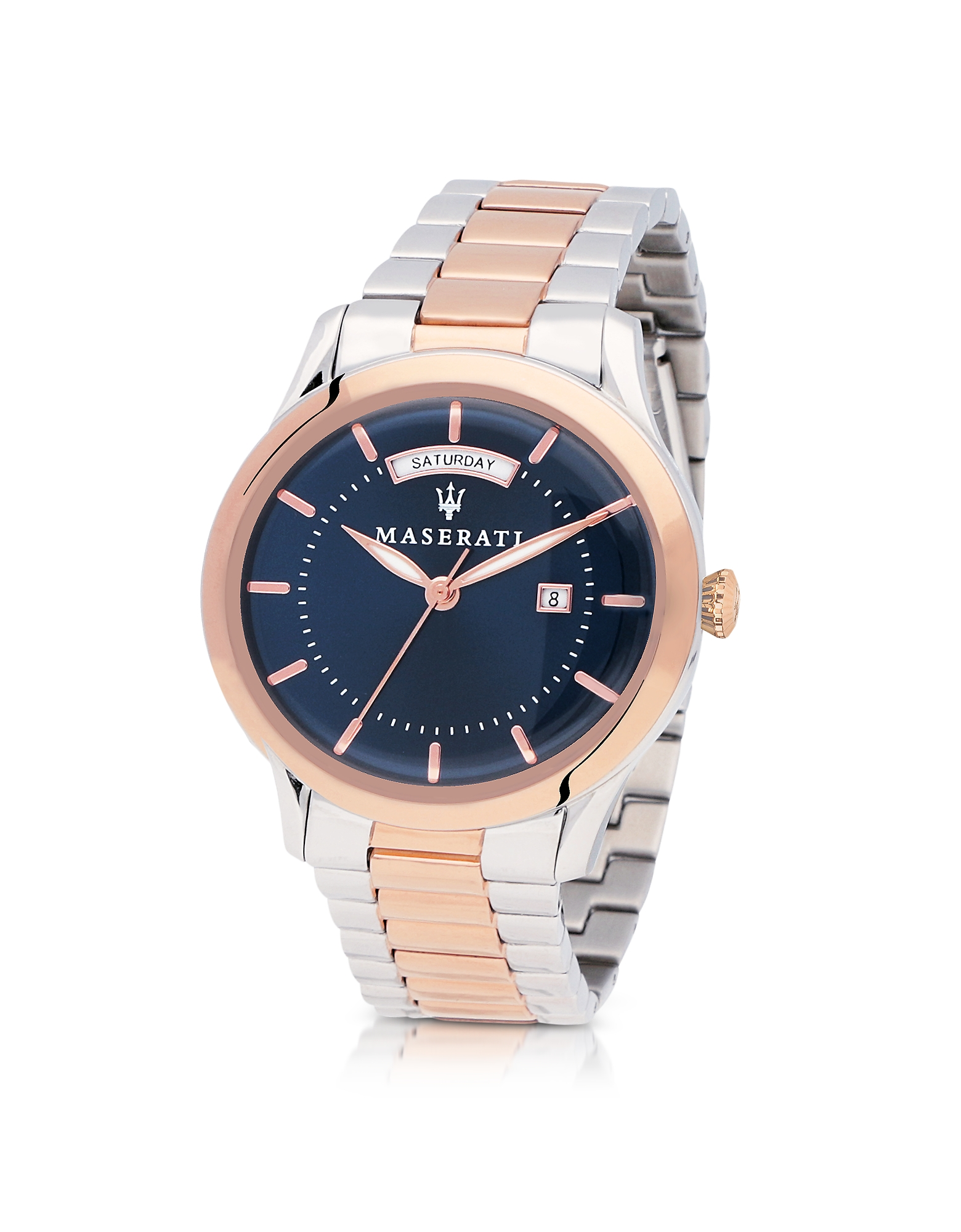 Maserati Men's Watches, Tradizione Two Tone Stainless Steel Men's Bracelet Watch