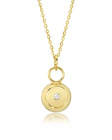 Telemaque 18K Yellow Gold and Diamond Bell Charm
