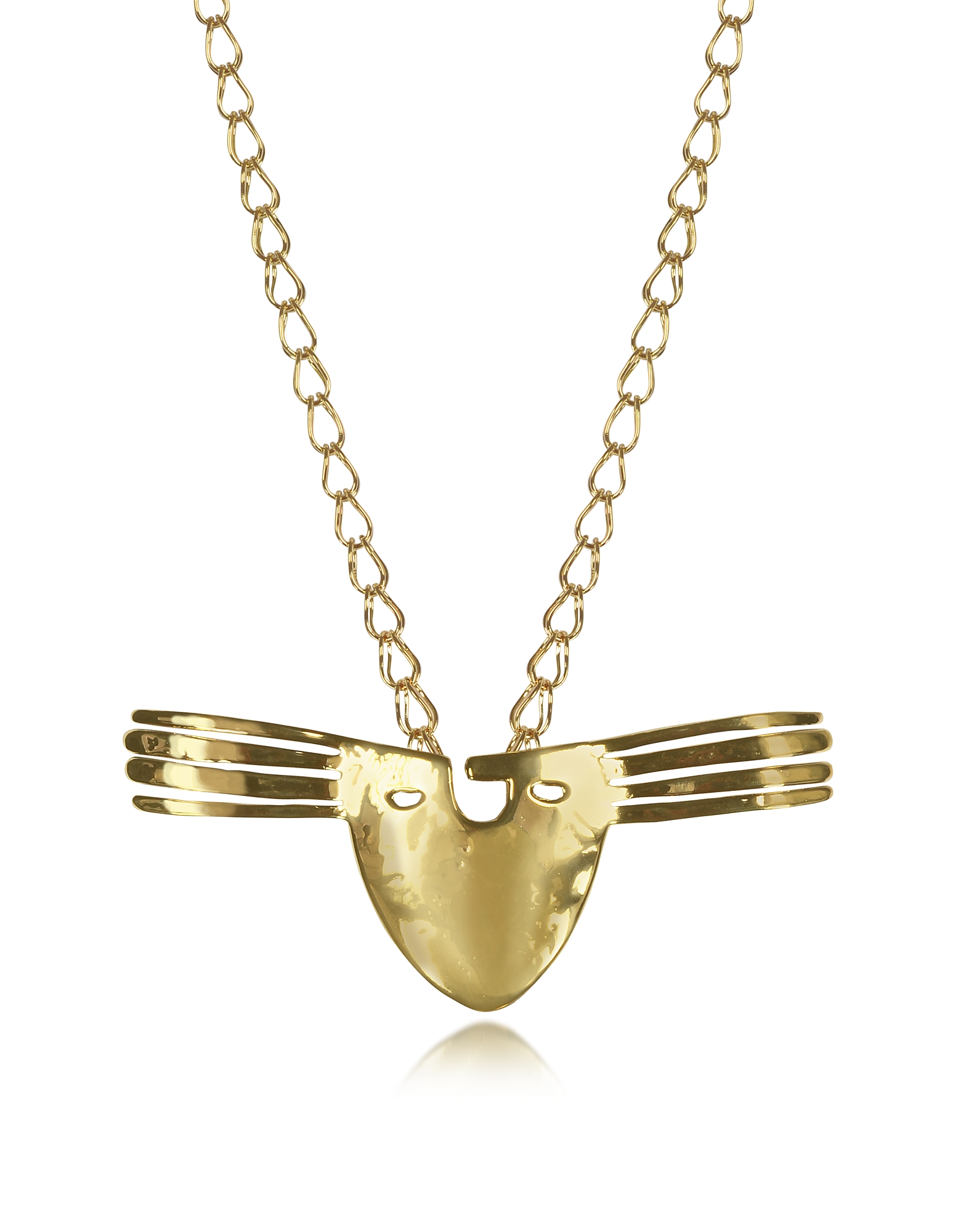 Aurelie Bidermann Necklaces, 18K gold-plated Brass Melina Long Necklace