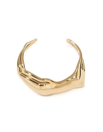 Aurelie Bidermann - Figuratives Body Gold Plated Bracelet