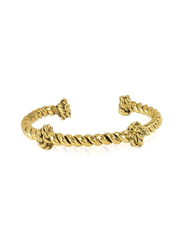 Aurelie Bidermann - Palazzo Gold Plated Rope Bracelet