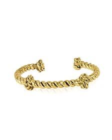 Palazzo Gold Plated Rope Bracelet - Aurelie Bidermann