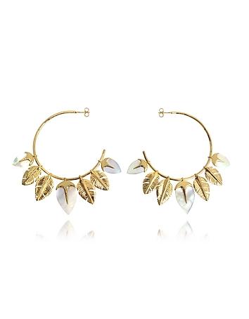 Aurelie Bidermann - Talitha Hoop Earrings
