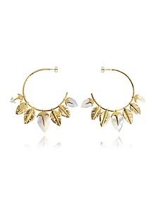 Talitha Hoop Earrings
