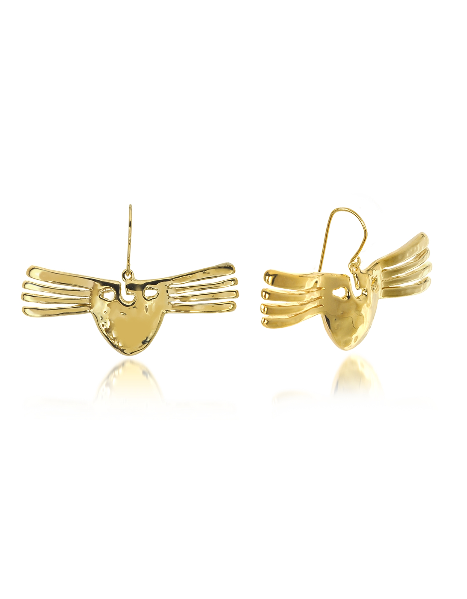 Aurelie Bidermann Earrings, Melina Mask Earrings