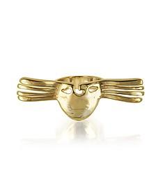 Melina Winged Mask Ring