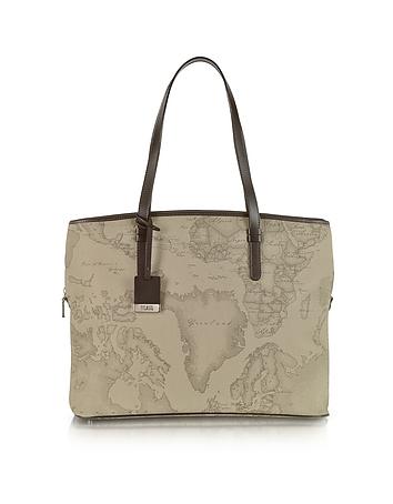 Alviero Martini 1A Classe - 1a Prima Classe - Geo Printed Large Business New Classic Shoulder Bag