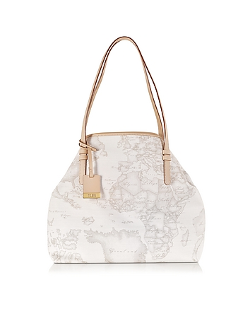 Alviero Martini 1A Classe - Geo Printed Large 'New Basic' Shoulder Bag