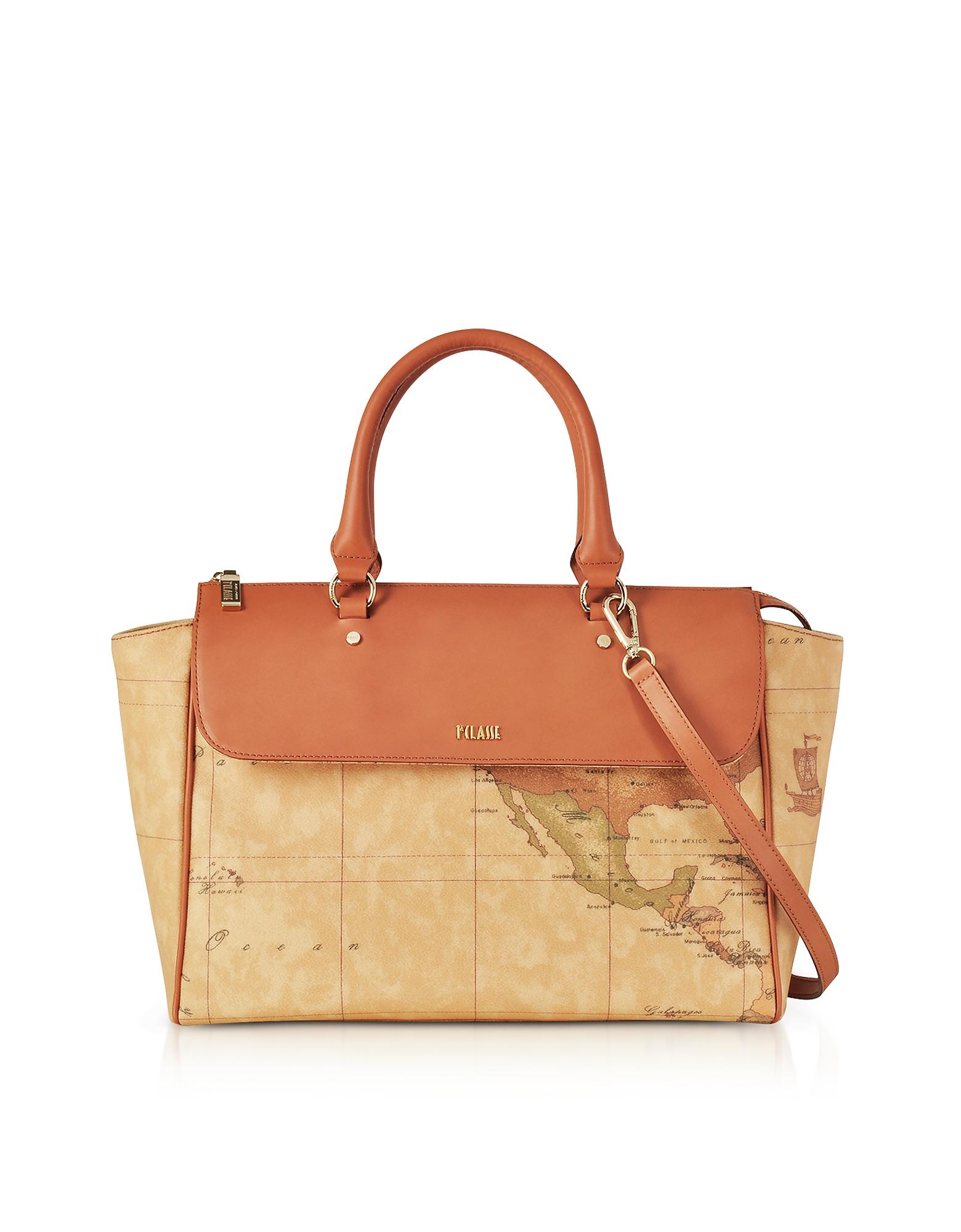 Alviero Martini 1A Classe Handbags, Large Geo Classic Handbag