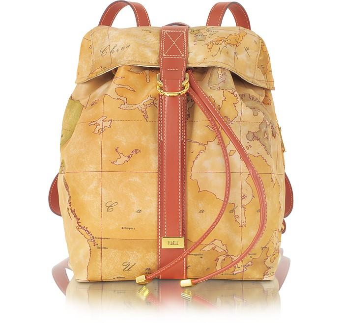 Sporting Soft Geo Print Backpack - Alviero Martini 1A Classe