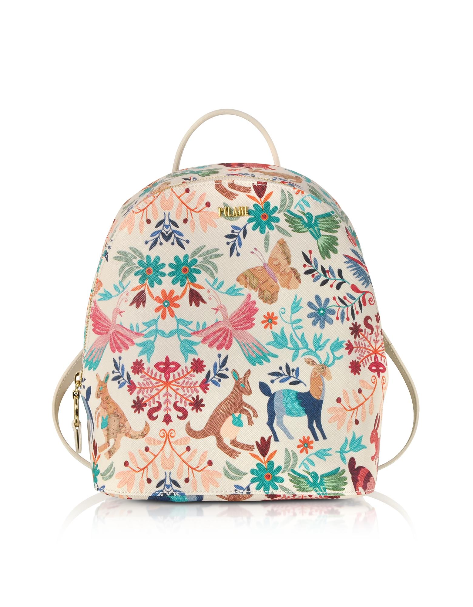 ALVIERO MARTINI 1A CLASSE Viva La Vida Multicolor Backpack