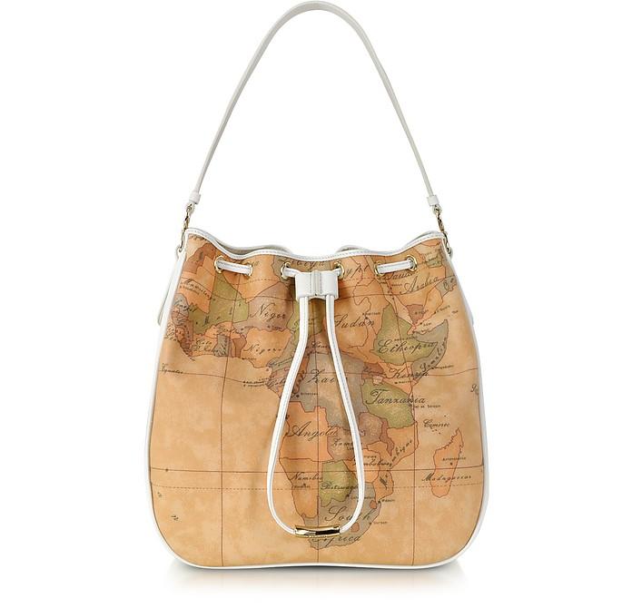 Urban Casual Smal Geo Print Bucket Bag - Alviero Martini 1A Classe