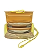 Small Kalifornia Geo Print Leather Crossbody Bag - Alviero Martini 1A Classe